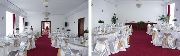 Restaurant nunta hotel Cota 1400 Sinaia interior