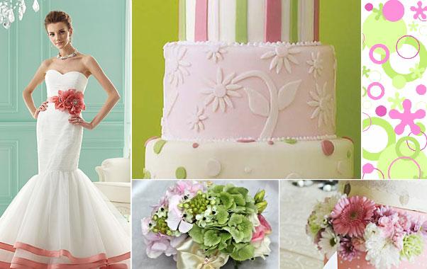 Decoratiuni roz in cadrul nuntii